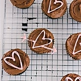 White Chocolate Heart Toppers
