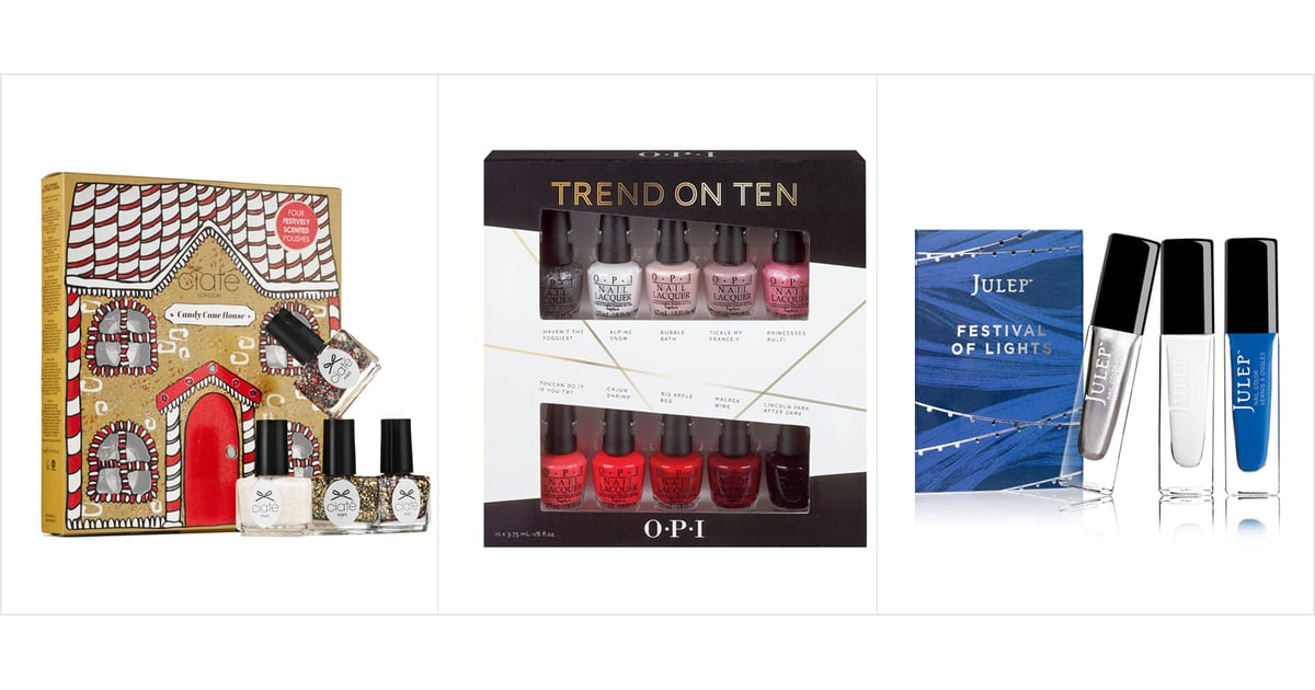 18 Spangly Holiday Polishes to Make Your Nails Stand Out