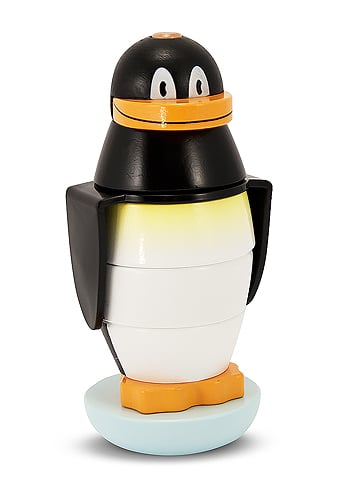 Melissa & Doug Wooden Penguin Stacker
