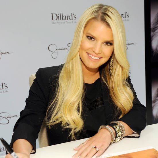 Jessica Simpson Pictures at Dillard's in New Orleans
