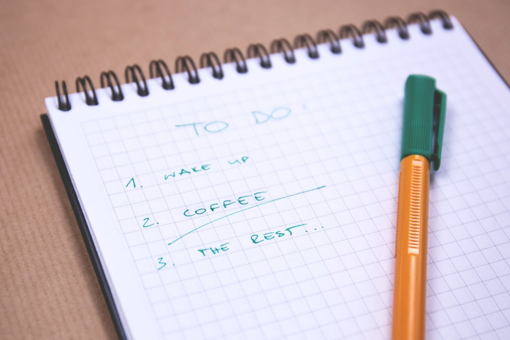 He's got a to-do list, and number one involves changing you!