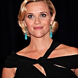 Reese Witherspoon Dresses Her Bump in Black For the White House Correspondents' Dinner