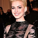 Anne Hathaway: Brunette to Blonde