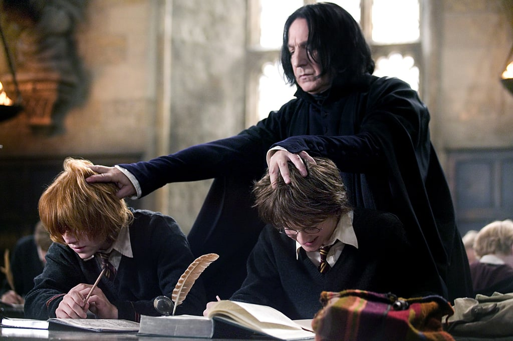 Remembering Every Priceless Moment Alan Rickman Gave Us as Snape