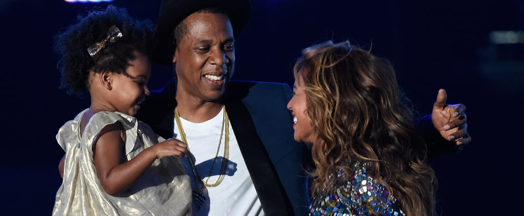 Blue Ivy, Beyonce, Jay Z Pictures at 2014 MTV VMAs
