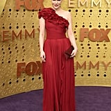 Emily Hampshire at the 2019 Emmys