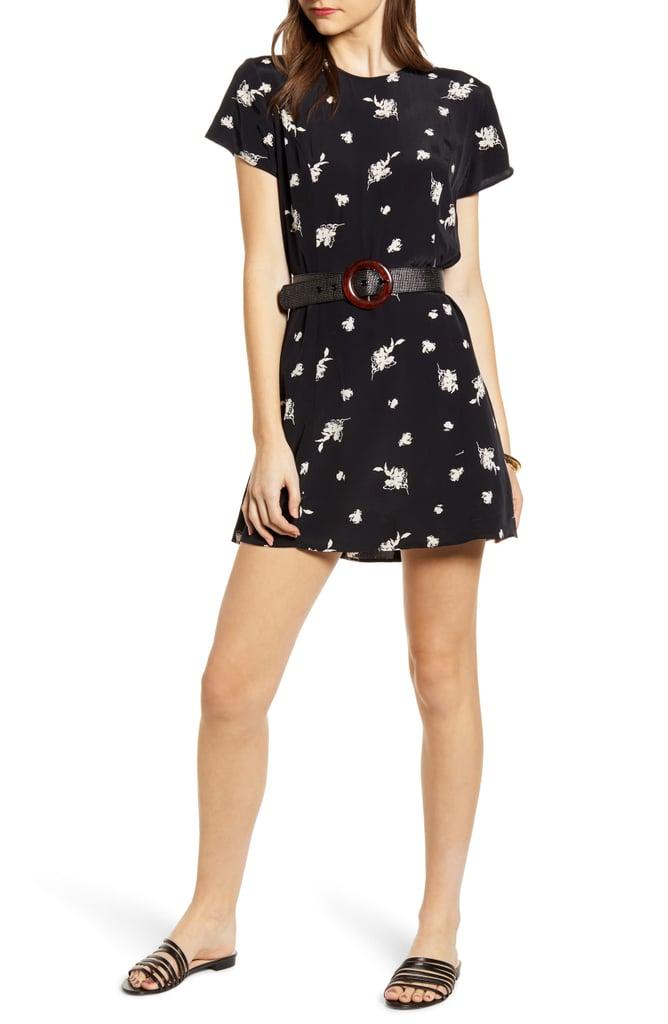 Something Navy Easy Flirty Minidress