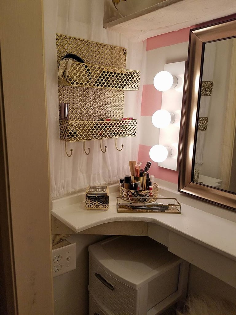 Charming Husband Makes Wife Closet Vanity