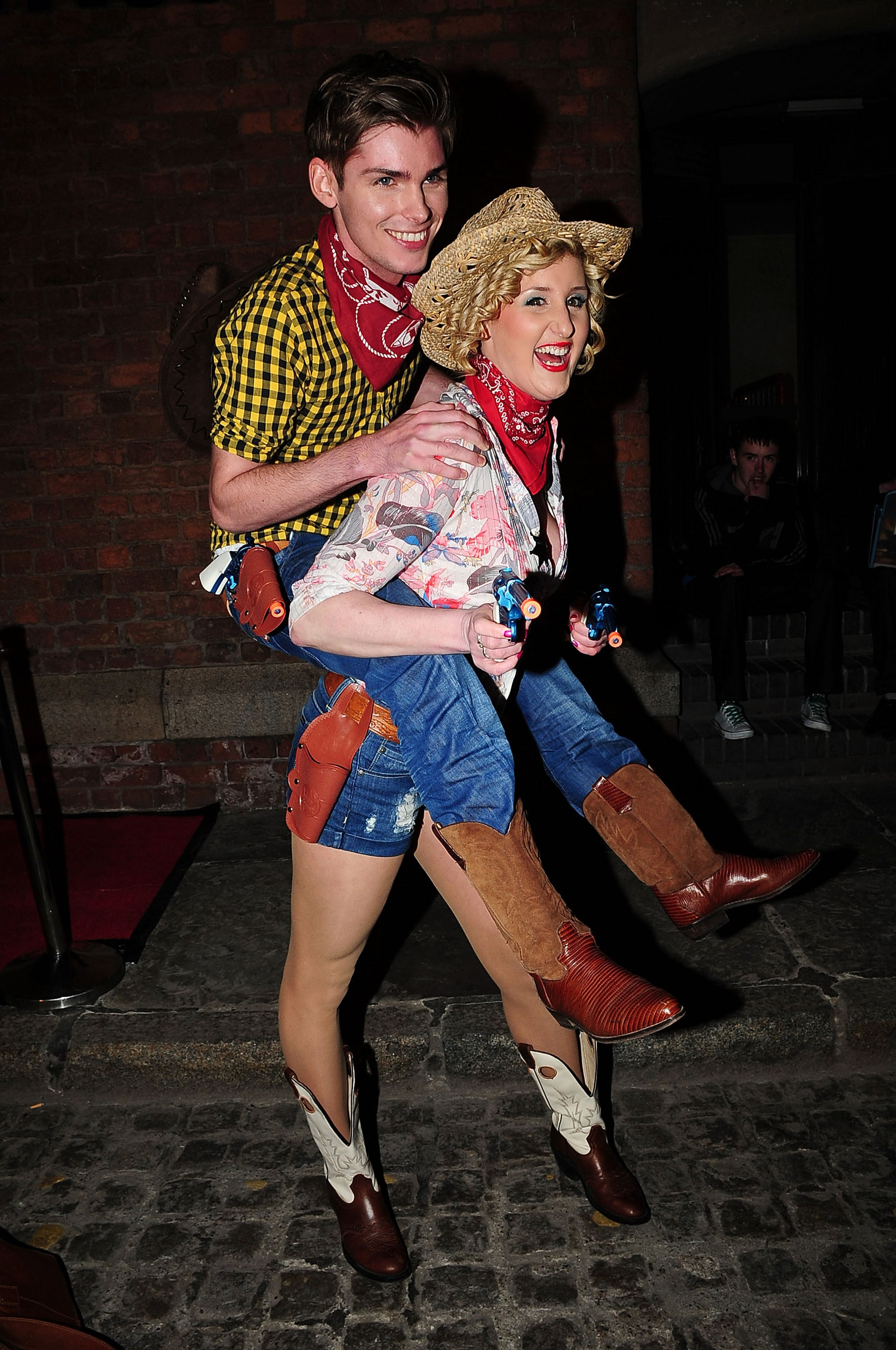 Photos of Ricky Whittle\'s Hollyoaks Leaving Party Fancy Dress Carley ...