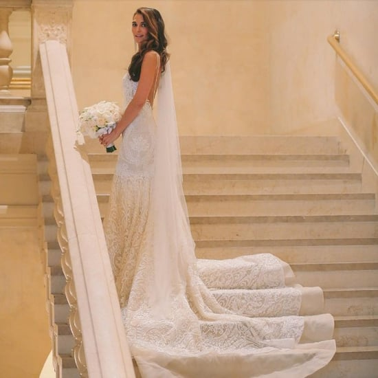 Melissa Wood's Berta Bridal Wedding Dress