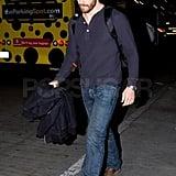 Jake Gyllenhaal Returns to LA as He Balances His Exes