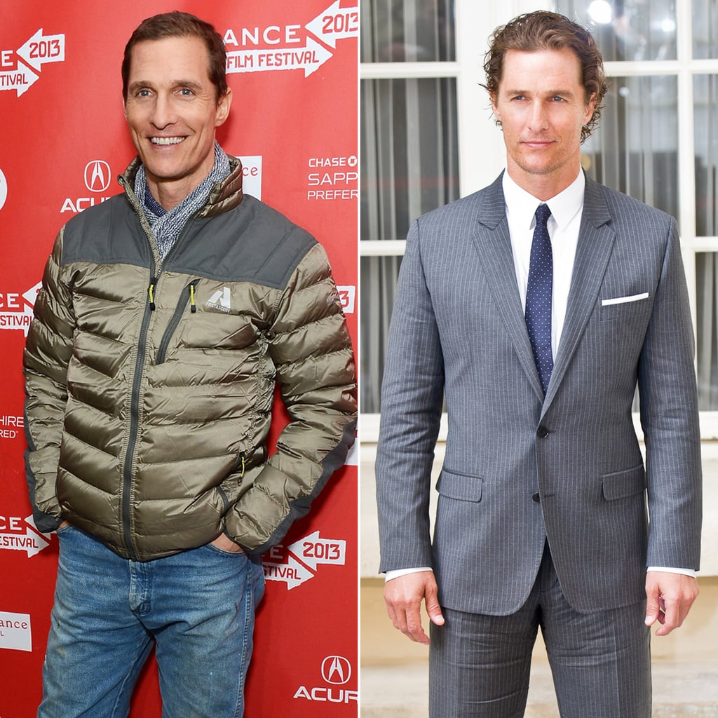 Matthew McConaughey: Better With Long or Short Hair?