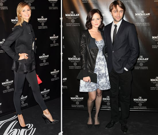 Alexis Bledel Debuts Her Mad Men Boyfriend at a Bash With Stacy Keibler