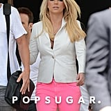 Britney Spears traveled to Miami.
