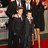 He Can Work the Red Carpet With His Family . . .