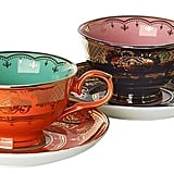 Pols Potten Grandma Set Of 4 Tea Cups & Saucers
