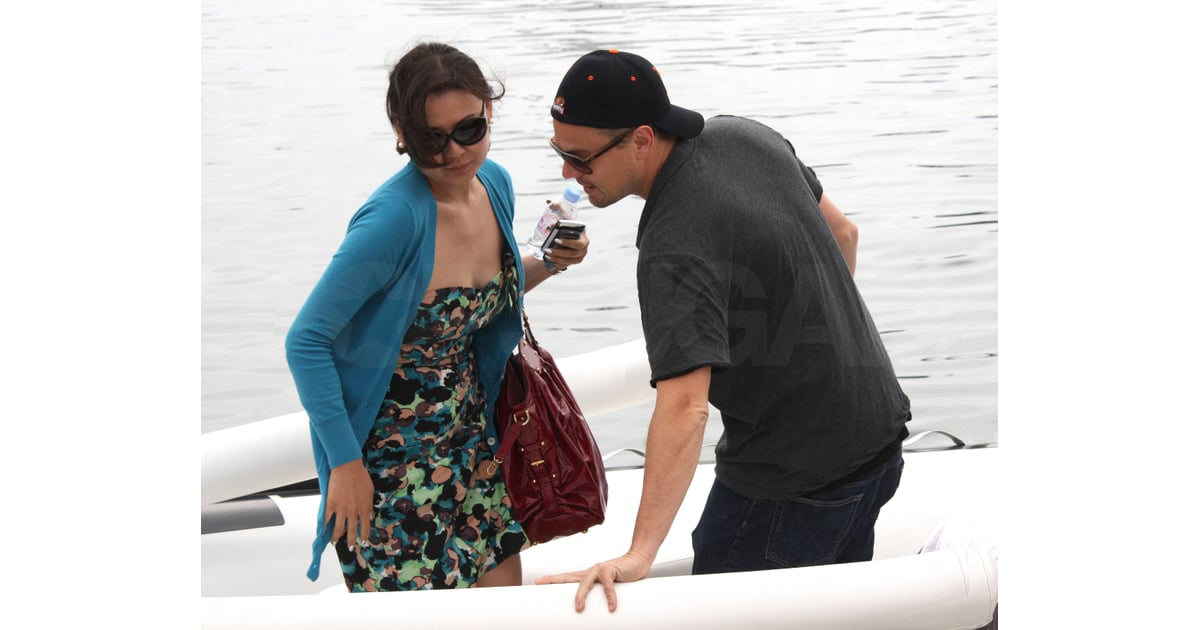 leonardo dicaprio pictures hugging someone in cannes after