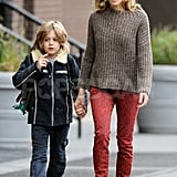 Sarah Jessica Parker and James Wilkie took a morning stroll.