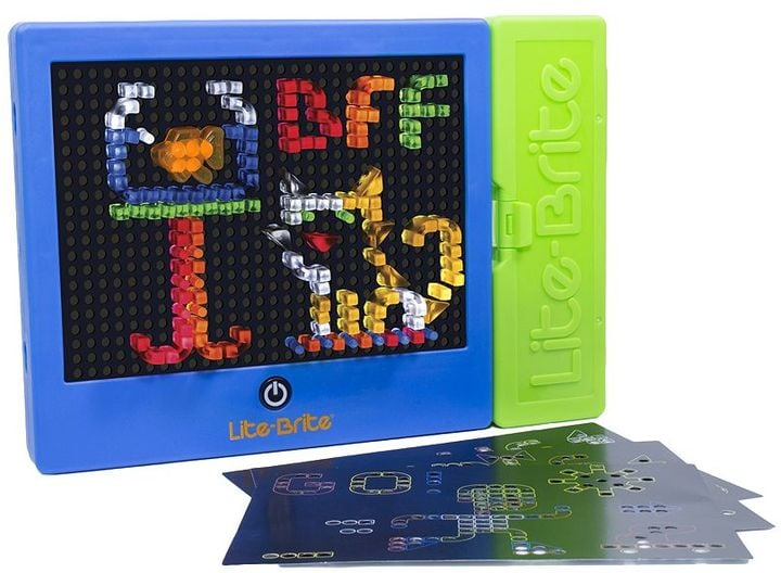 For 4-Year-Olds: Lite Brite Magic Screen