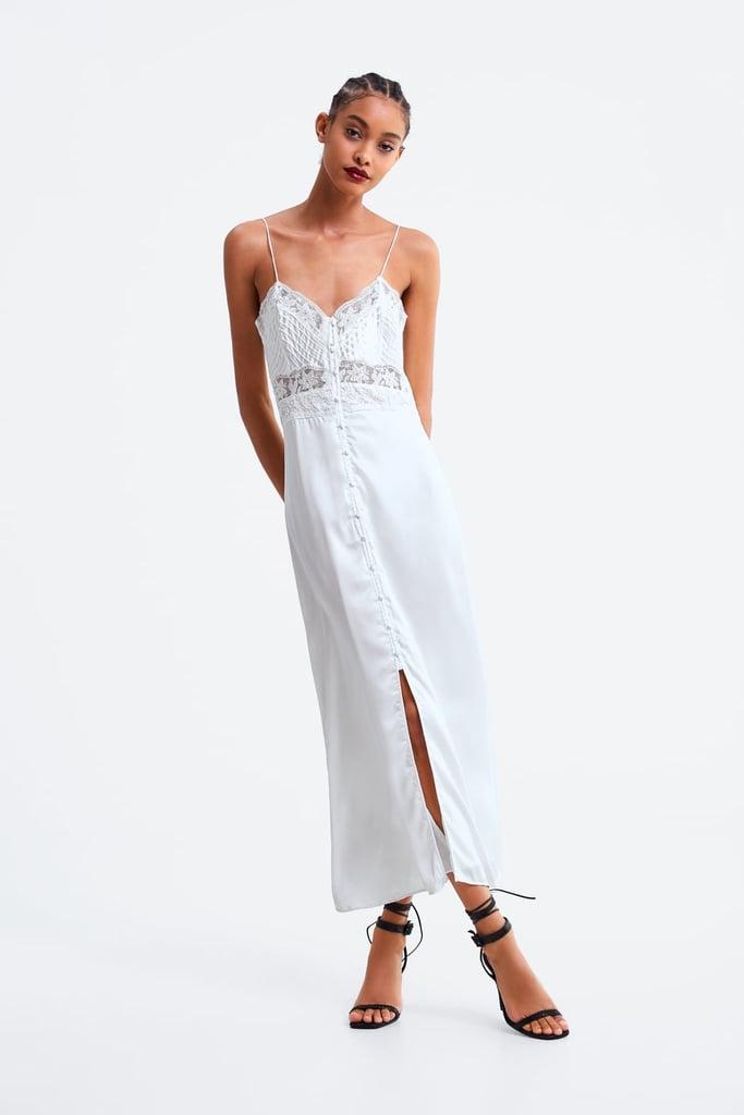 Zara Satin Camisole Dress