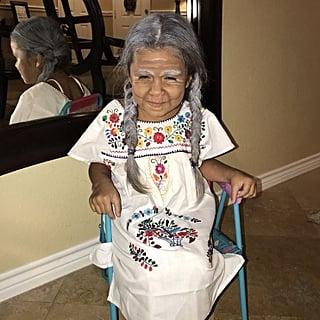 Girl Dressed as Mama Coco 2018