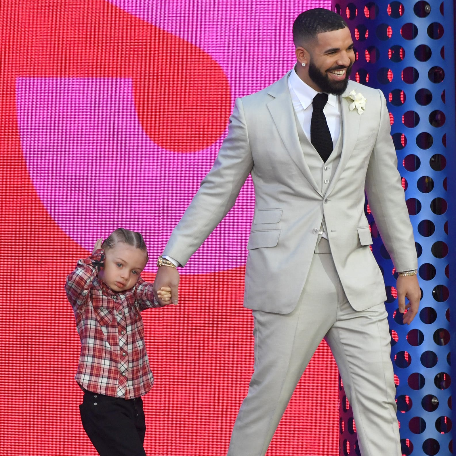 All of the Pictures We've Seen of Drake's Son, Adonis   POPSUGAR Family