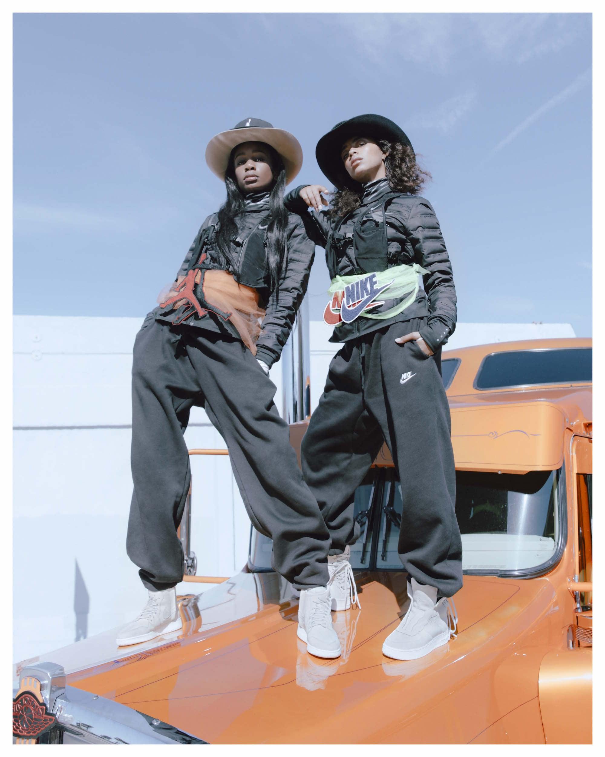 first rate 4c812 6df08 Abra is wearing the Air Jordan 1 Rebels XXs and Kelsey Lu is ...
