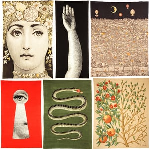 This Just In: Roubini Launches Fornasetti Rug Collection