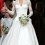 Modest Celebrity Wedding Dresses