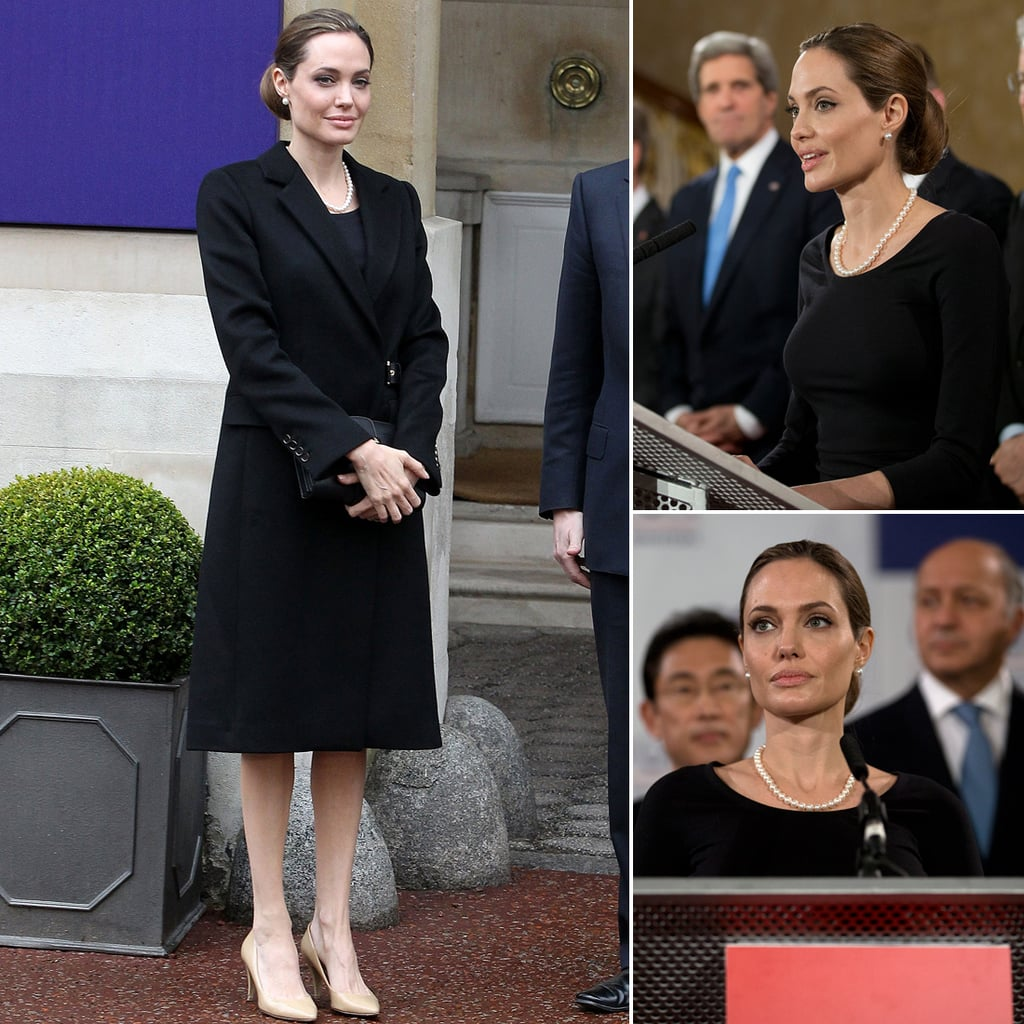 Angelina Jolie Pictures at G8 Summit 2013