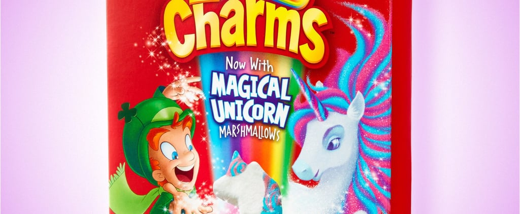 Lucky Charms With Unicorn Marshmallows