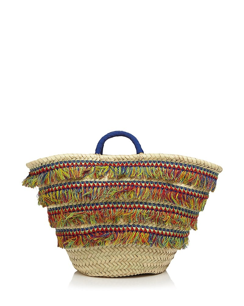 The Caterina Bertini Multicolor Fringe Tote ($78) makes for a pretty standout beach bag that can fit all her magazines and books.