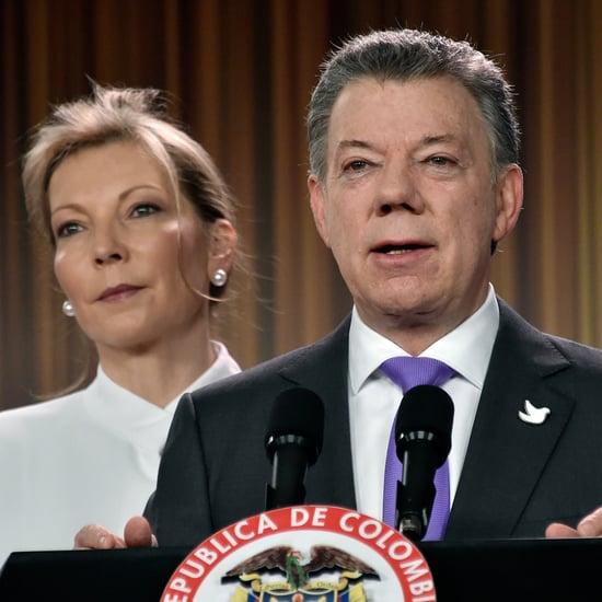 Colombia President Juan Manuel Santos Gets Nobel Peace Prize