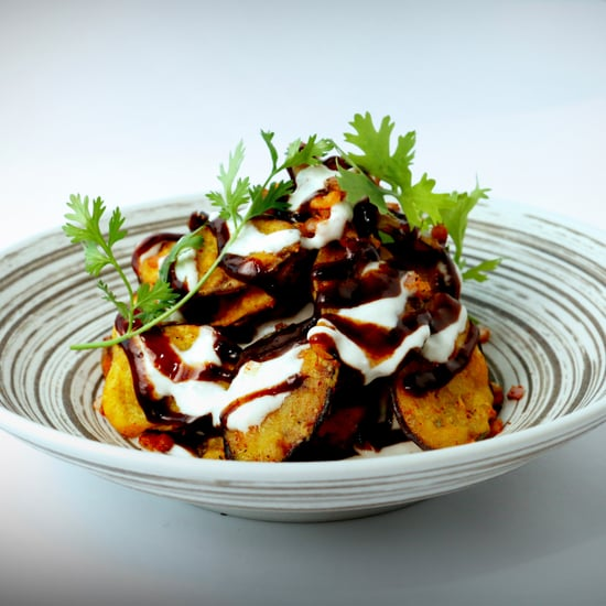 Eggplant Chaat Recipe From Dubai's Junoon Restaurant