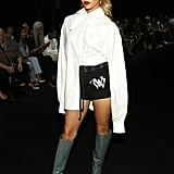 Jasmine Sanders at the Vera Wang New York Fashion Week Show