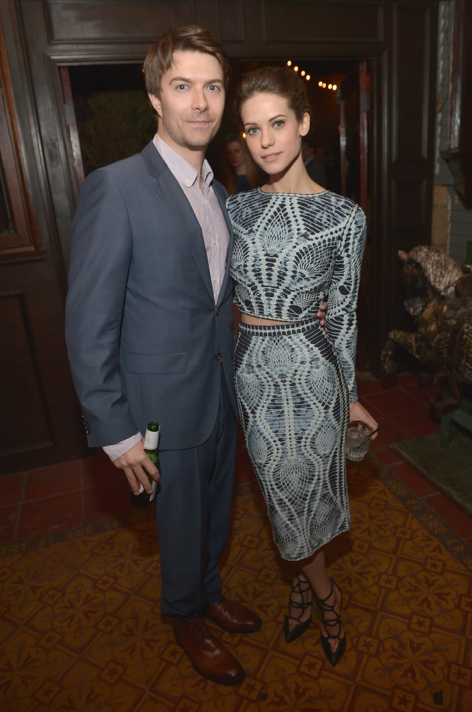 Nikita's Noah Bean and Lyndsy Fonseca reunited.