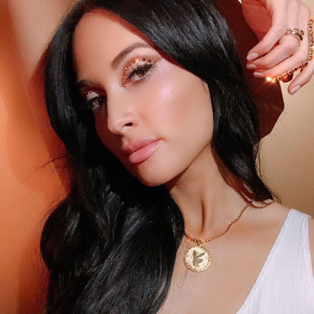 Kacey Musgraves's Swarovski Crystal Eye Makeup
