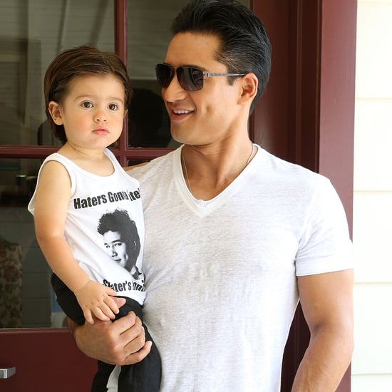 Mario Lopez and His Son Nico Work Out Together