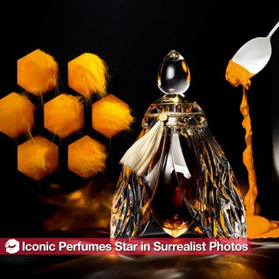 Iconic Perfume Bottles Star in Surrealist Portraits 2011-04-11 13:07:29