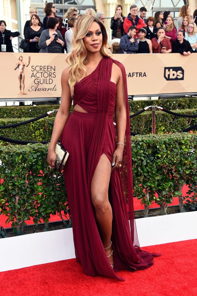 Colorful Dress Trend SAG Awards 2016