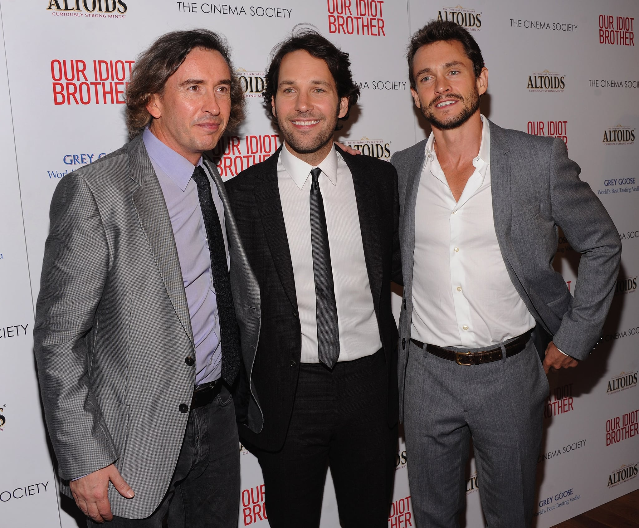 Steve Coogan, Paul Rudd and Hugh Dancy