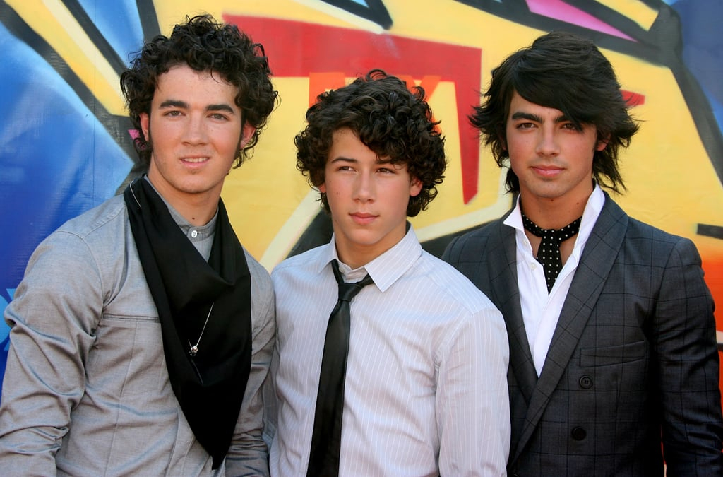 The Jonas Brothers at the Teen Choice Awards in 2007
