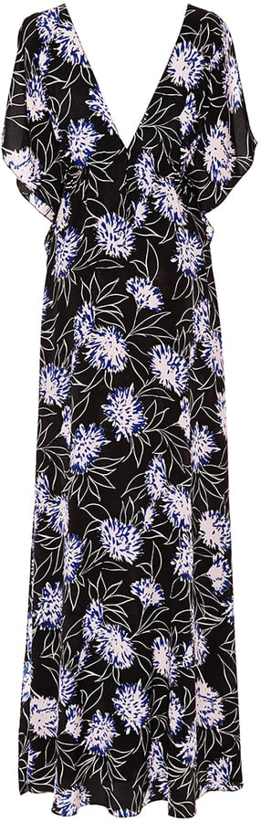 Thakoon Addition Vintage Silk Floral Print Maxi Dress ($690)