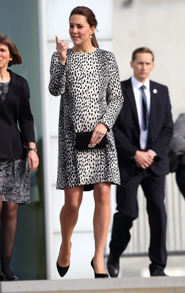 Kate Middleton at the Turner Contemporary Art Gallery in 2015