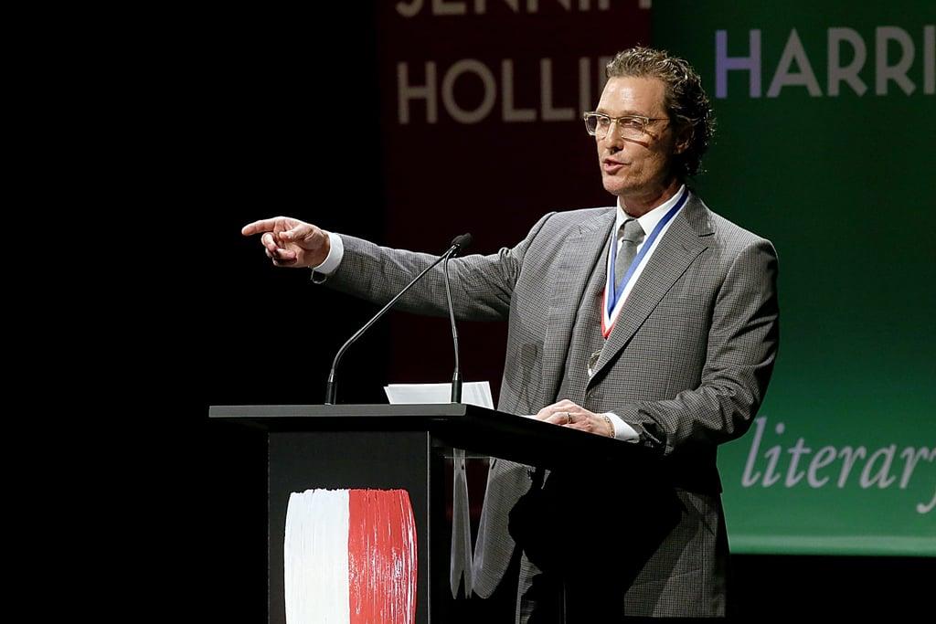 Matthew McConaughey Is Film Professor at University of ...