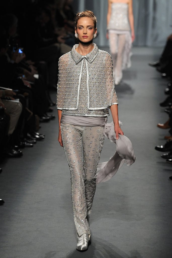Karl Lagerfeld Chooses Kristen McMenamy As Bride for Chanel's Spring 2011 Couture Collection