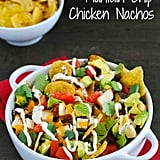 Plantain Chip Chicken Nachos