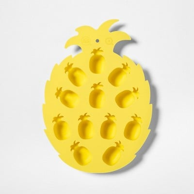 Sun Squad Silicone Pineapple Ice Cube Tray