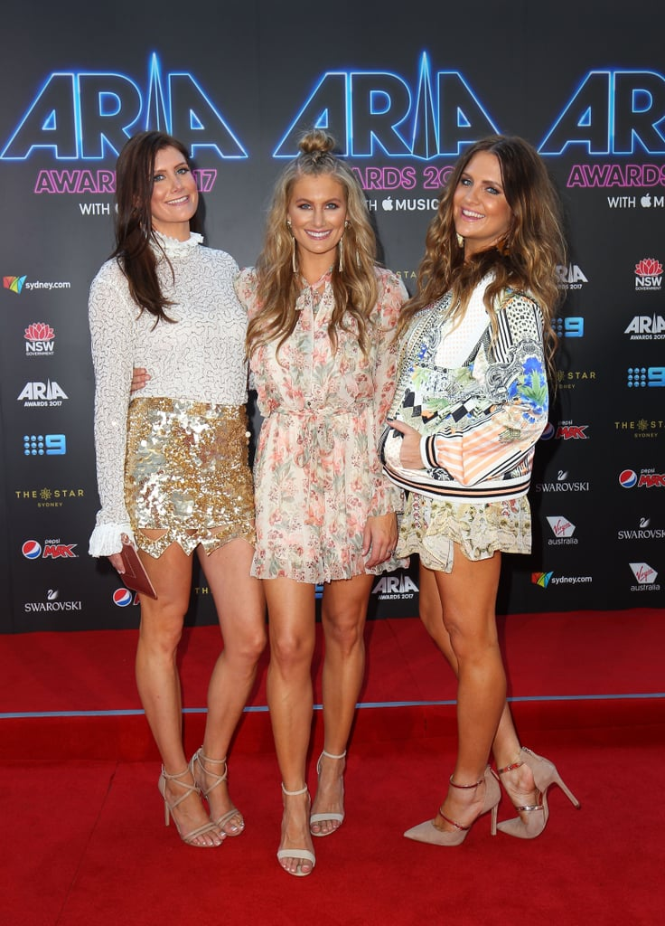 Brooke, Mollie and Samantha McClymont of The McClymonts