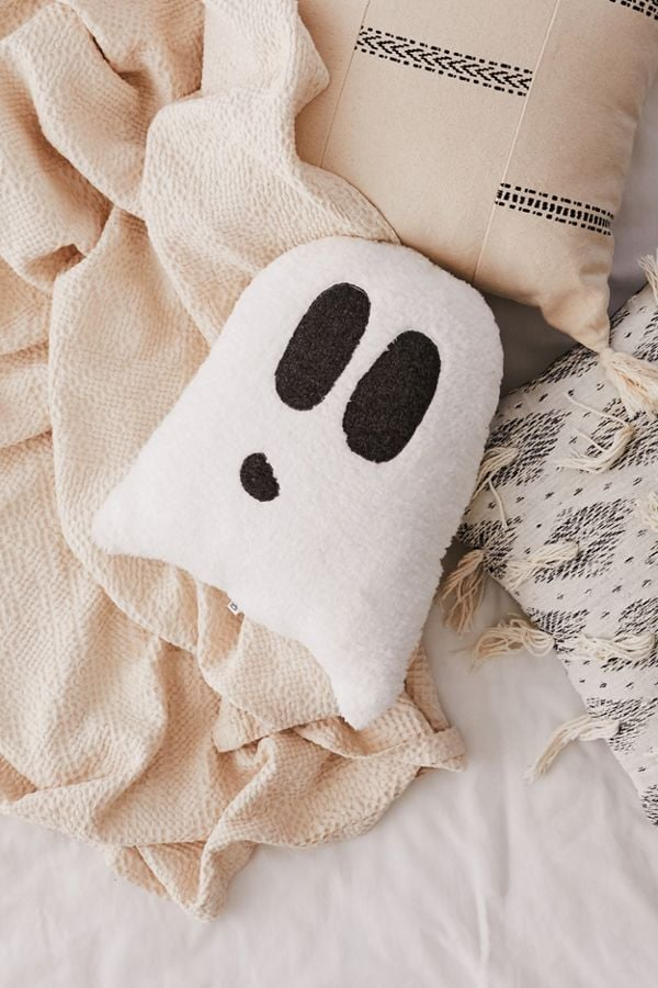 Ghost Sherpa Pillow